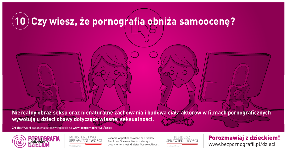 Czy wiesz, że pornografia obniża samoocenę?