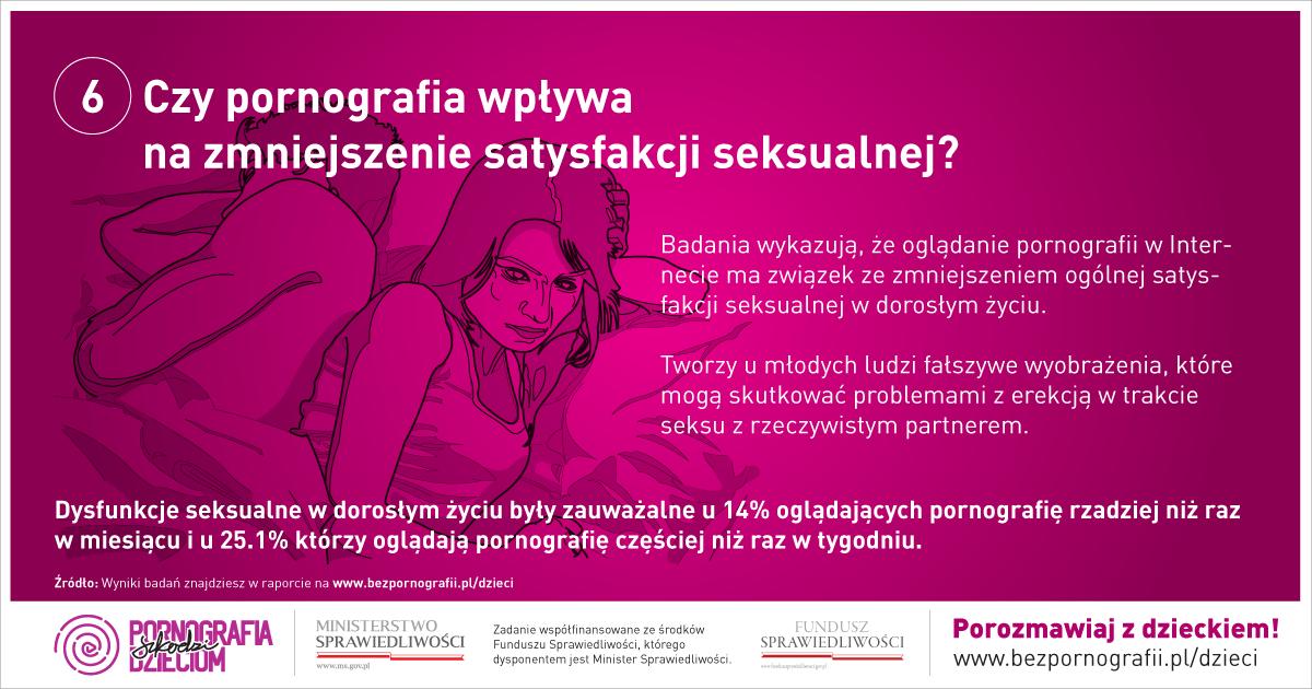 Czy pornografia wpływa na zmniejszenie satysfakcji seksualnej?