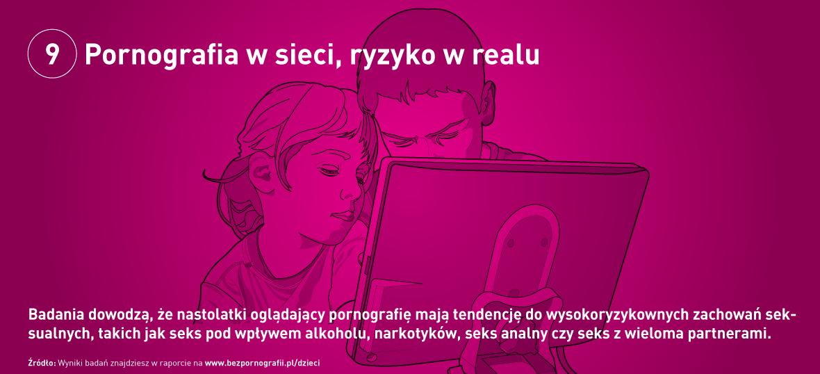 Pornografia w sieci, ryzyko w realu